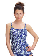 Tankini Lanai Fantasie - Blauw cut out